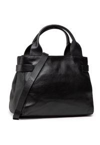 Czarna torebka klasyczna Clarks skórzana
