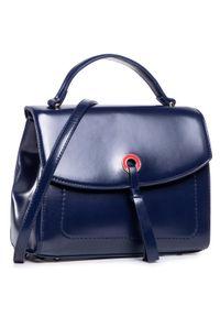 Niebieska torebka klasyczna Monnari