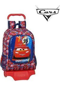 Czerwony plecak Cars