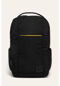 Czarny plecak CATerpillar w paski