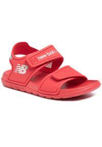 Czerwone sandały New Balance