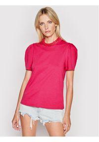 Imperial Bluzka TL85BAS Różowy Regular Fit. Kolor: różowy