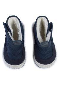 Niebieskie buty zimowe Froddo z cholewką #6