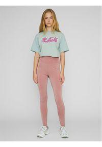ROTATE Legginsy Kamelia RT496 Różowy Slim Fit. Kolor: różowy