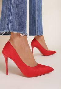 Czerwone szpilki Renee #6