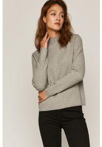 medicine - Medicine - Sweter Timeless Black. Okazja: na co dzień. Kolor: szary. Długość rękawa: długi rękaw. Długość: długie. Styl: casual