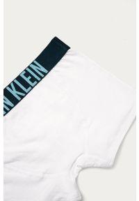 Białe majtki Calvin Klein Underwear z nadrukiem