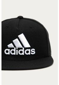 Czarna czapka z daszkiem adidas Performance gładkie