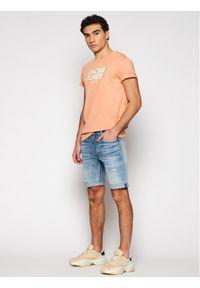 Jack & Jones - Jack&Jones T-Shirt Strong 12189389 Pomarańczowy Regular Fit. Kolor: pomarańczowy
