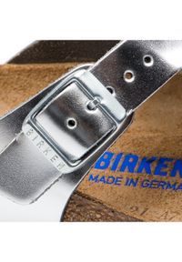 Birkenstock Japonki Gizeh Bs 1003675 Srebrny. Kolor: srebrny