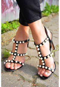 Czarne sandały Sergio Todzi
