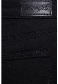 Czarne jeansy Wrangler