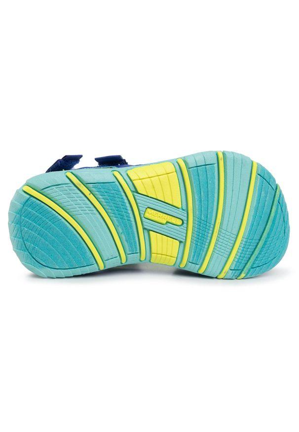 Zielone sandały Merrell klasyczne, na lato