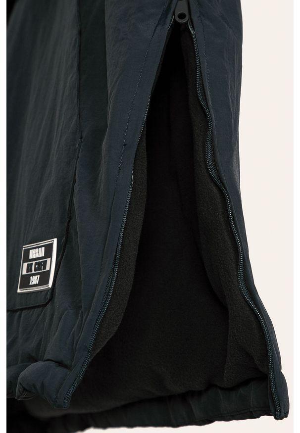 Niebieska kurtka Blukids krótka, z kapturem, raglanowy rękaw