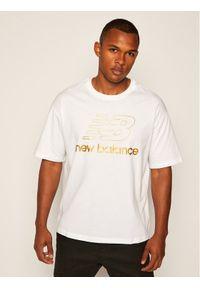 Biały t-shirt New Balance
