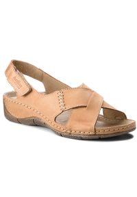 Brązowe sandały Helios
