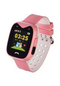 Różowy zegarek GARETT smartwatch