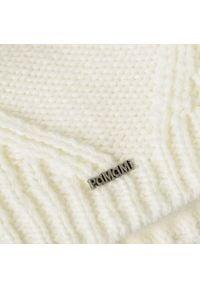 Zimowa czapka damska PaMaMi - Ecru. Materiał: poliamid, akryl. Sezon: zima