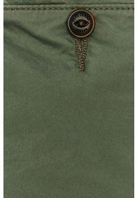 Oliwkowe spodnie materiałowe Pepe Jeans