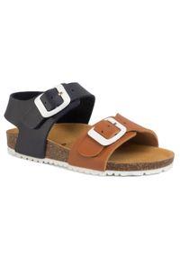 Brązowe sandały Garvalin