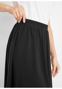 Spódnica z gumką bonprix czarny. Kolor: czarny