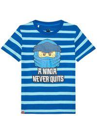 Niebieski t-shirt LEGO Wear