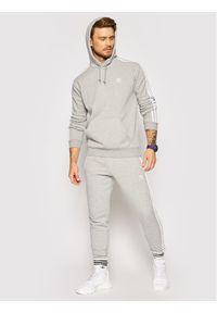 Adidas - adidas Bluza adicolor Classics 3-Stripes H06675 Szary Regular Fit. Kolor: szary