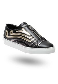 Czarne sneakersy Just Cavalli