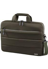 Oliwkowa torba na laptopa hama