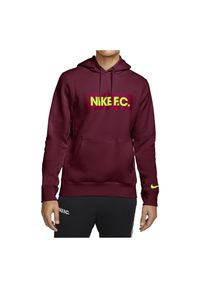 Bluza męska piłkarska Nike CT2011. Typ kołnierza: kaptur. Materiał: bawełna, tkanina, poliester. Sport: piłka nożna