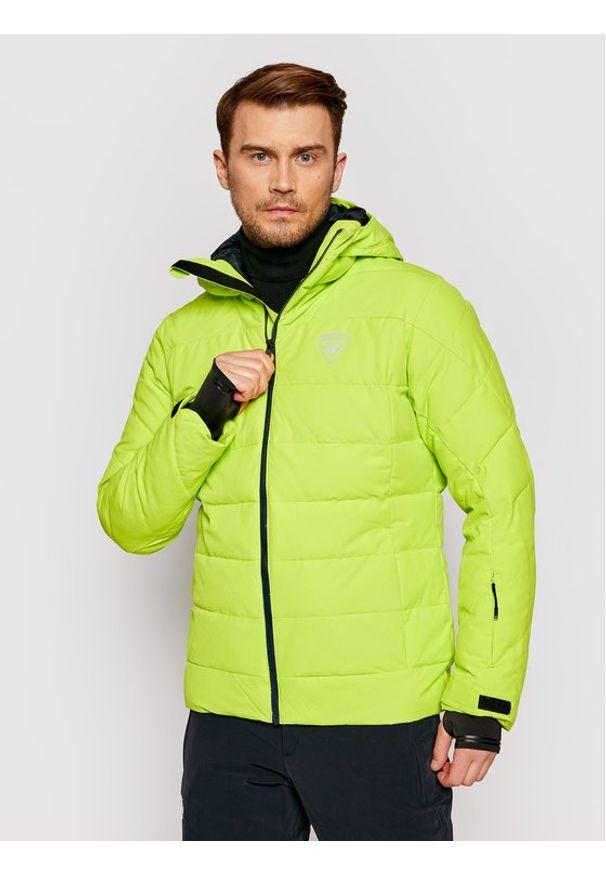Rossignol Kurtka narciarska Rapide RLIMJ16 Zielony Regular Fit. Kolor: zielony. Sport: narciarstwo