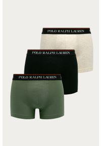 Zielone majtki Polo Ralph Lauren z nadrukiem