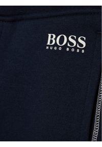 Niebieskie spodnie dresowe BOSS