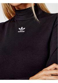 Adidas - adidas Golf adicolor Essentials Tee GN4791 Czarny Slim Fit. Typ kołnierza: golf. Kolor: czarny #4