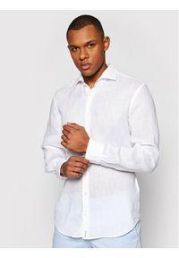 Baldessarini Koszula Henry B3 10000/000/3030 Biały Tailored Fit. Kolor: biały