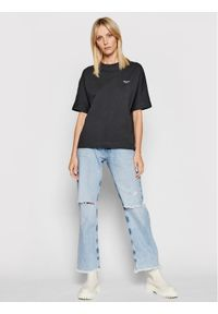 Pepe Jeans T-Shirt Agnes PL581101 Szary Relaxed Fit. Kolor: szary