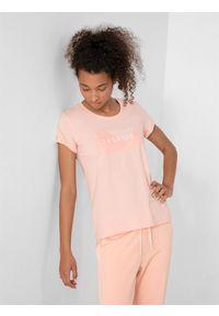 4f - T-shirt damski. Materiał: bawełna. Długość rękawa: krótki rękaw