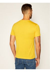 Żółty t-shirt EA7 Emporio Armani #5