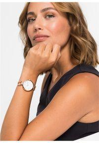 Złoty zegarek bonprix elegancki