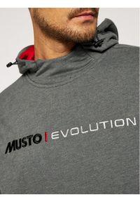 Musto Bluza Evo Logo 82043 Szary Regular Fit. Kolor: szary