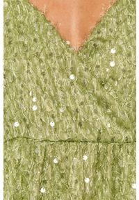 Zielona sukienka Vero Moda mini, prosta