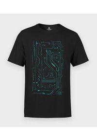 MegaKoszulki - Koszulka męska Wires. Materiał: bawełna
