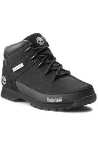 Czarne buty sportowe Timberland do biegania