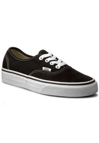Czarne buty sportowe Vans Authentic