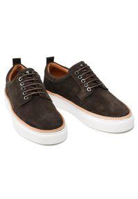 JOOP! - Joop! Sneakersy Velluto 4140005794 Brązowy. Kolor: brązowy