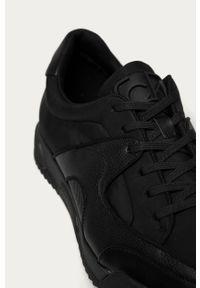 Czarne sneakersy Calvin Klein na sznurówki #5