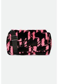 Karl Lagerfeld - TOREBKA KARL LAGERFELD. Wzór: aplikacja. Dodatki: z aplikacjami. Materiał: futrzane. Rodzaj torebki: na ramię