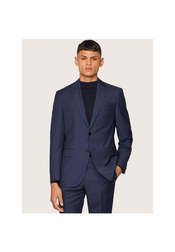 Niebieski garnitur BOSS