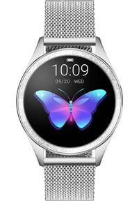 Srebrny zegarek Pacific smartwatch