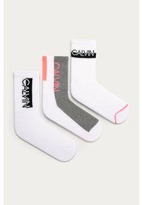 Białe skarpetki Calvin Klein
